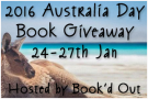 Australia Day Book Giveaway.